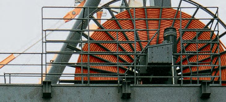 Enrolador de cabos MT